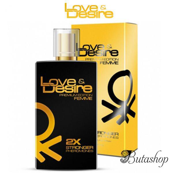 Феромоны для женщин Love&Desire Gold woman - 100ml - butashop.com
