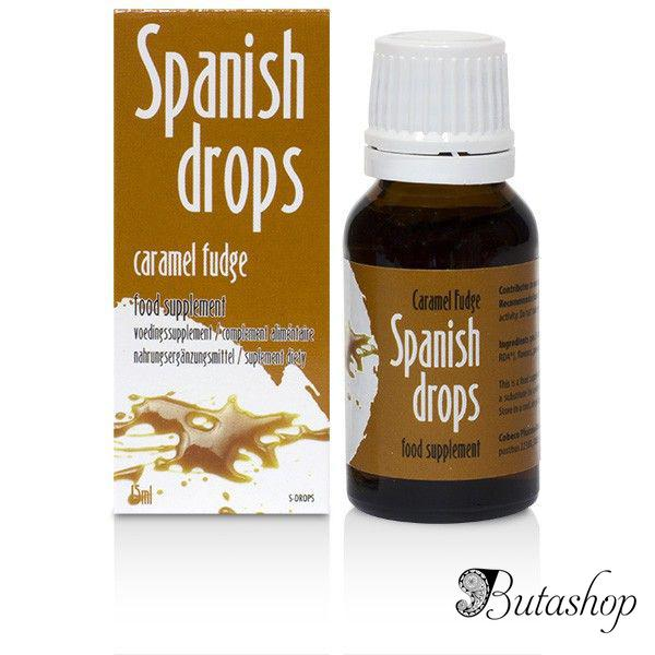 Возбуждающие капли Spanish Drops Caramel Fudge (15ml) - butashop.com