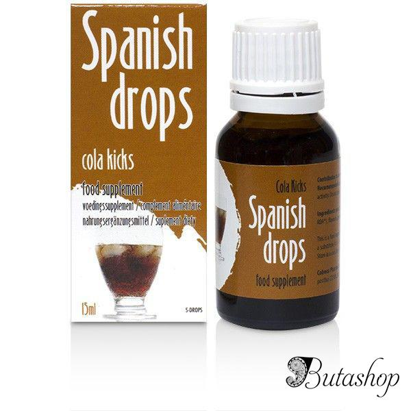 Возбуждающие капли Spanish Drops Cola Kicks (15ml) - butashop.com