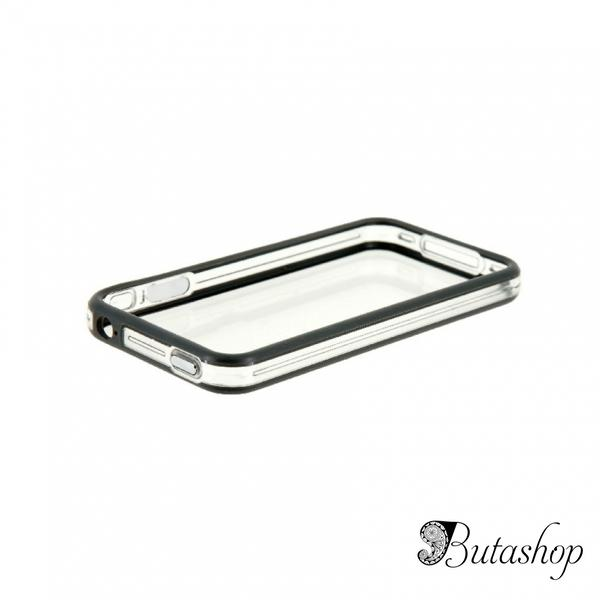РАСПРОДАЖА! CO-49 Plastic Protective Ultra-slim iPhone 4G Bumper Frame Skin Case Cover with Power Switch Volume Control - butashop.com